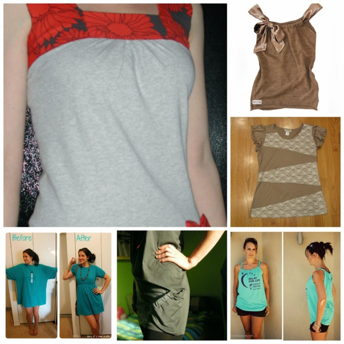 6 Easy T-Shirt Makeovers